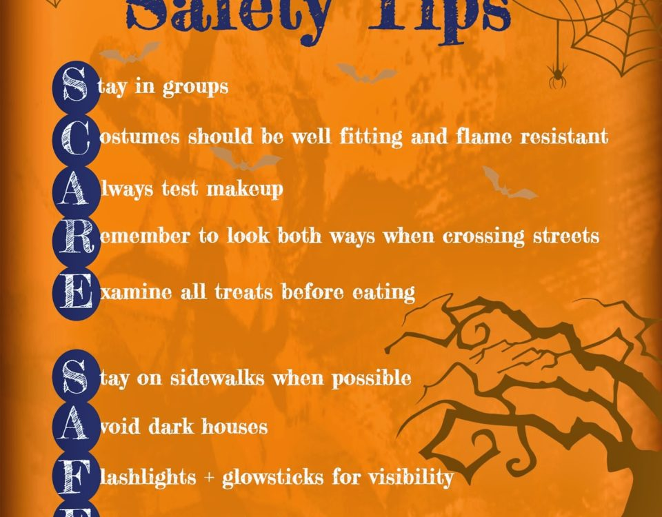 saginaw bay underwriters insurance safety halloween