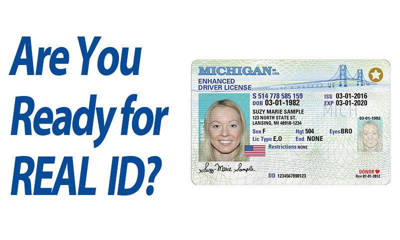 SAGINAW BAY UNDERWRITERS AUTO INSURANCE REAL ID